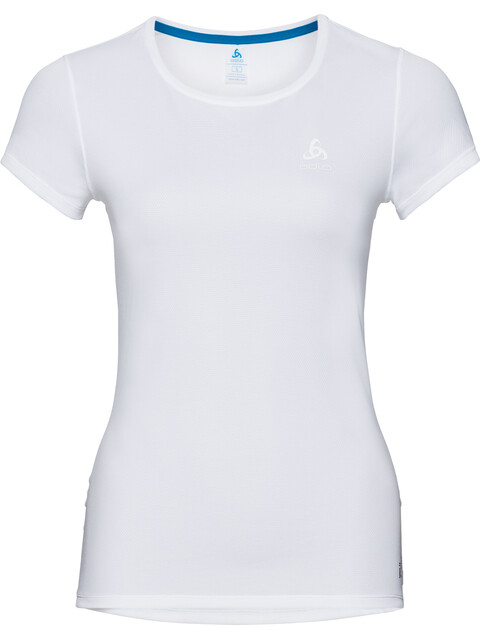 Odlo Active F-Dry Light Crew Neck SS Shirt Women white